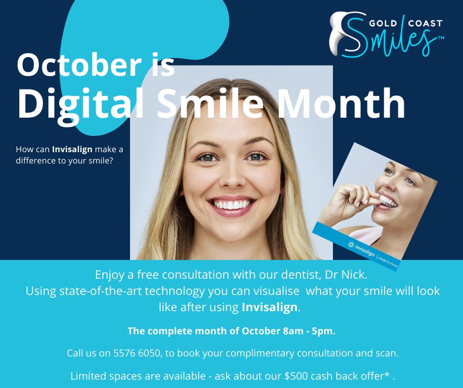Ocotober - Digital Smile Month